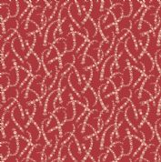 Braveheart by Makower UK - 6641 - Floral Chains on Red  - 9179_R - Cotton Fabric
